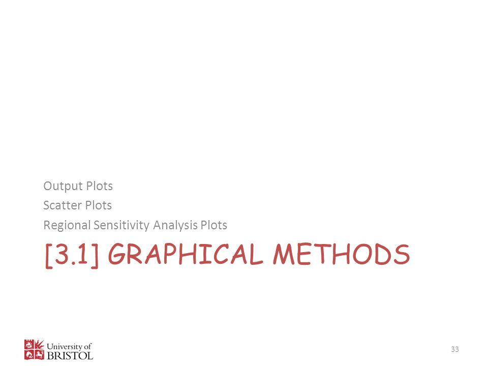 [3.1] GRAPHICAL methods Output Plots Scatter Plots